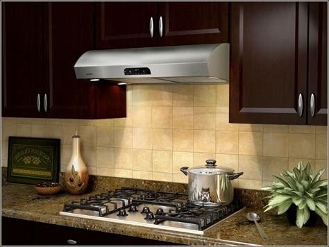 ductless range kitchen kitchen gas stove with ductless range also wooden kitchen cabinet plus tile