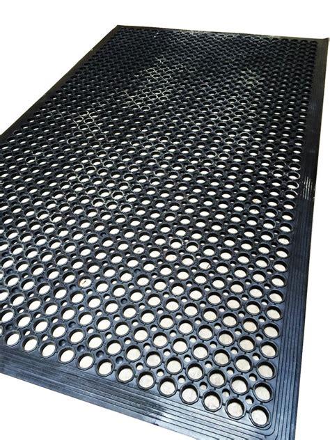 anti slip decking work floor rubber mat anti fatigue camping caravan boat ebay