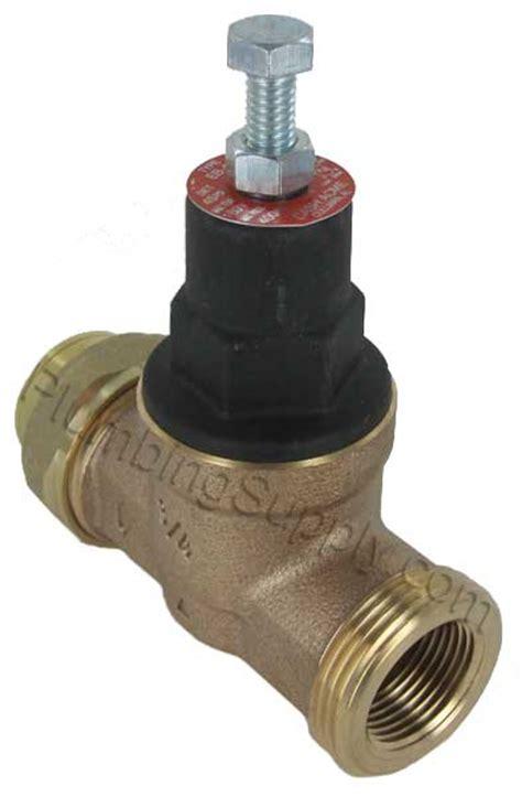 Plumbing Pressure Valve by Turn Shutoff Half Way To Reduce Water Pressure
