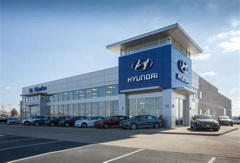 St Charles Hyundai Dealership by St Charles Nissan Hyundai Car Dealership In Peters