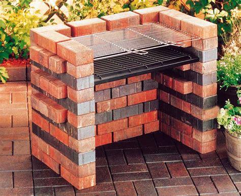 Backyard Grill Gas Charcoal Come Costruire Barbecue In Muratura