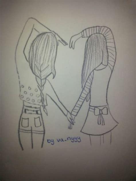 cute drawings of friendship best friend heart drawings hipster best friend heart drawings www pixshark com images
