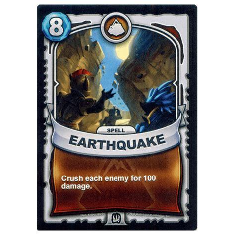earthquake spell earthquake spell skylanders character list