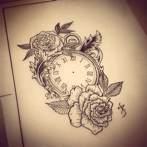 clock tattoo designs tumblr vintage clock tattoos desenho disponvel pra tatuar contato