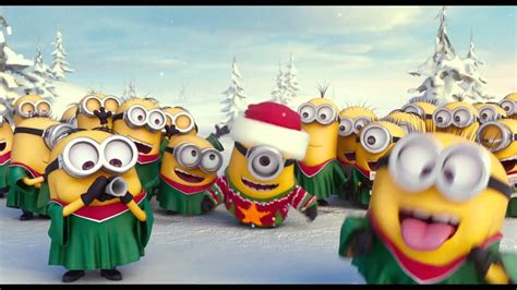 minions frohe festtage wuenscht kitag youtube