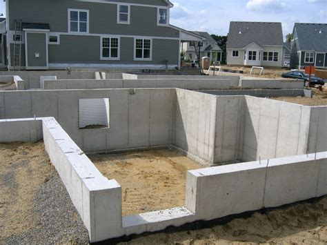 concrete basement construction fenton poured walls inc call now 810 629 5265 ph