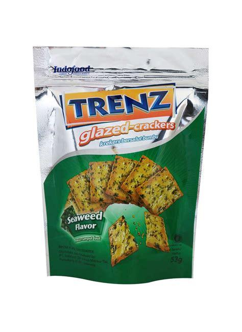 Tepung Whey indofood glaze crakers trenz seaweed pck 53g klikindomaret