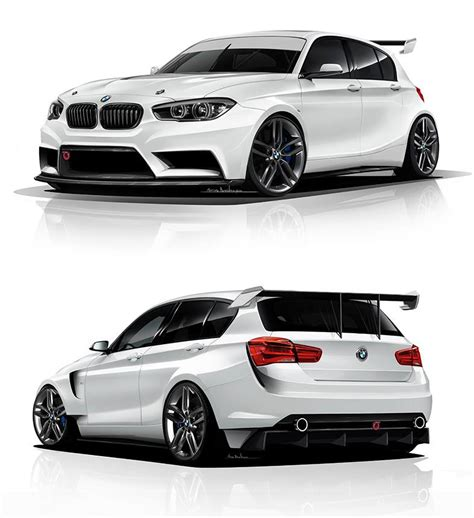 Bmw 1er F20 Bodykit by Bmw 1 Series Rendered As Proper Racing Car By Adf