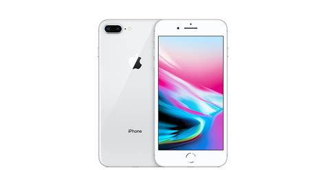 t iphone 8 plus iphone 8 plus 64gb silver gsm at t apple