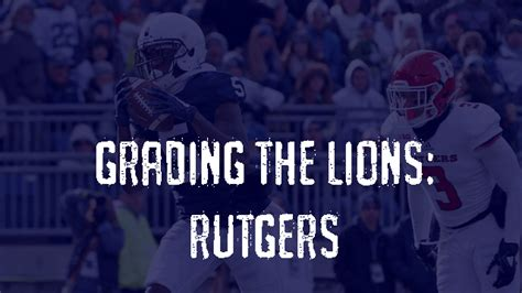 Rutgers Grading Scale Mba by Penn State Post Grades Rutgers Scarlet Knights