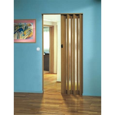Concertina Doors The Eurostar Concertina Folding Door Light Oak Glass