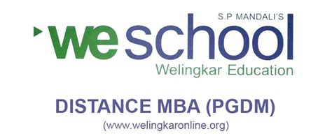 Mba Education Management Distance Learning by Welingkar Part Time Mba Fees Structure Master Search
