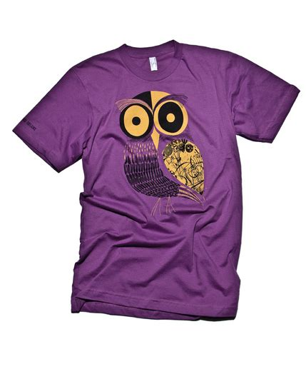 Tshir Kaos Hi Standard The Owl the great american t shirt design features paste