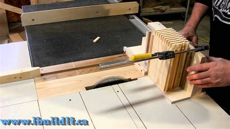 cut box joints   advanced box joint jig