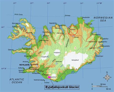 Resumes Online by Eyjafjallajokull On Iceland Map