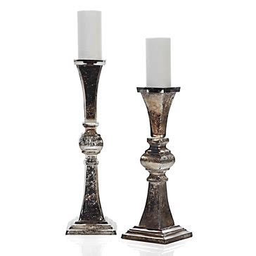 Mercury Glass Candle Holders Z Gallerie by Vendome Pillar Holder Pillars Candleholders Home