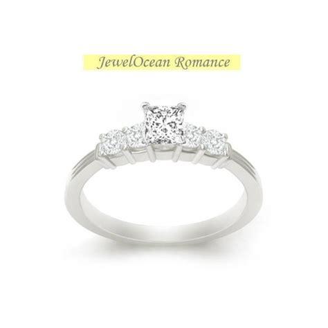 sparkling affordable engagement ring 0 50 carat princess