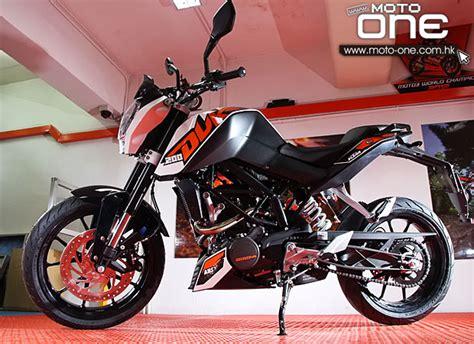 Ktm 200 Abs 2013 Ktm 200 Duke Abs版登場 售價不變