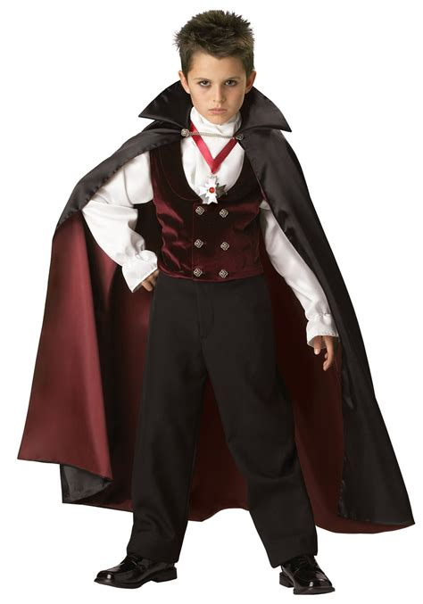 boys gothic vire costume