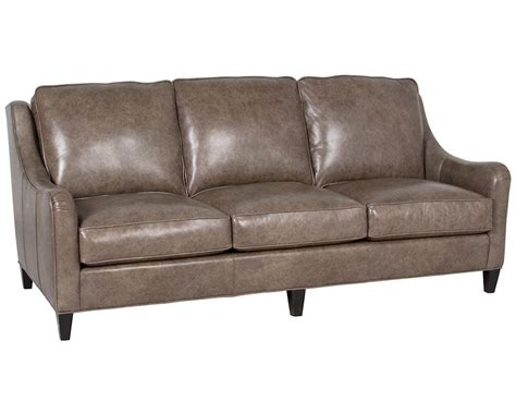 american made leather sofas classic leather perrin sofa 8713 leather furniture usa