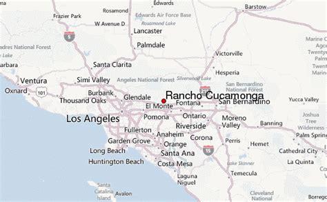 california map rancho cucamonga rancho cucamonga location guide