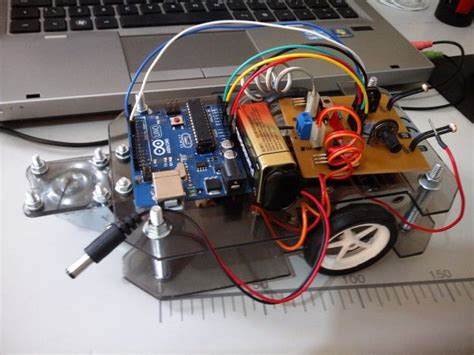 membuat robot light follower bugbot light follower robot using arduino use arduino