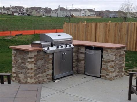 diy backyard kitchen redditor lukeyboy767 builds a low cost outdoor kitchen