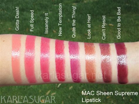 mac sheen supreme lipstick mac sheen supreme lipstick swatches photos reviews