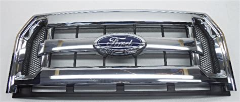 ford f150 grill emblem oem 2015 2016 ford f150 front chrome grille with emblem