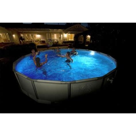 pools summer and led on