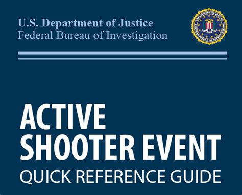 Active Shooter Situation Response Cdph Emergency Preparedness Office Hospital Active Shooter Tabletop Exercise Template