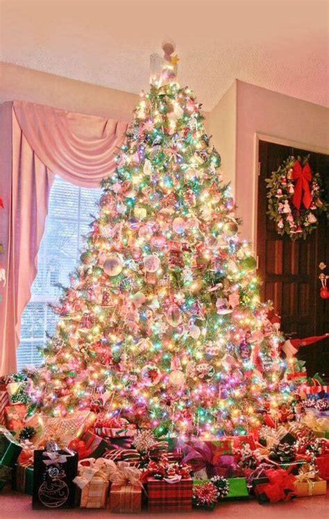 light pink christmas tree pastel christmas trees stay at home mum christmas