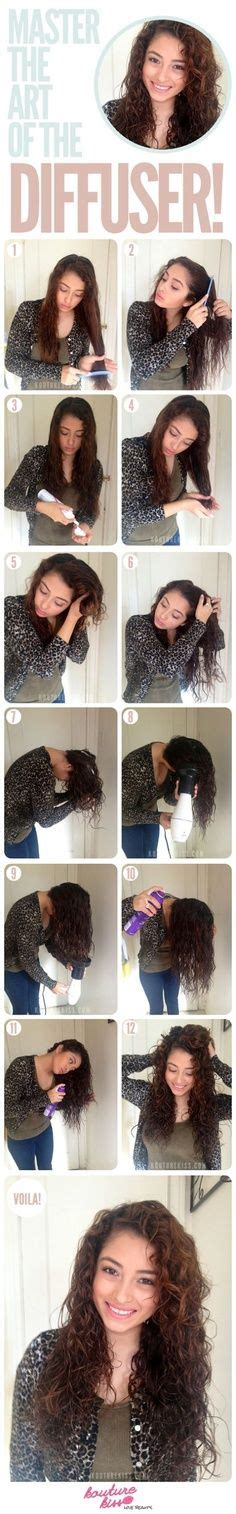 Do It Yourself Hair Dryer Diffuser add a gel after the mousse and you get a longer