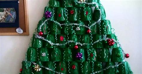 plastic cups christmas tree my roomates and i made a tree out of plastic cups gift tissue dollar tree
