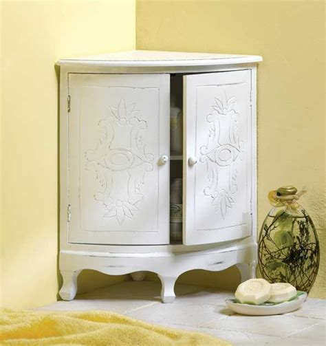 shabby chic corner cabinet so darling home furnishings pinterest