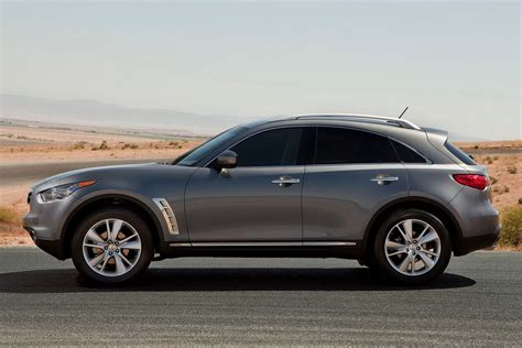 2012 infiniti fx brings mildly refreshed looks