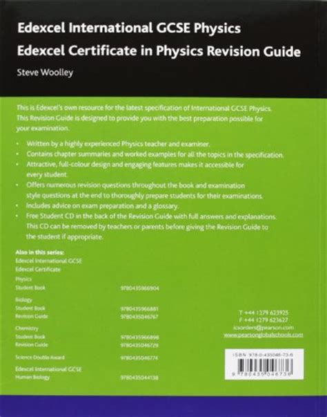 libro wjec gcse physics libro edexcel international gcse physics revision guide with student cd di steve woolley