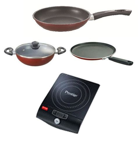 prestige mini induction cooktop dimensions prestige pic 10 0 induction cooktop prestige cookware set 3 pcs price in india buy