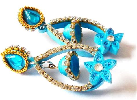 Paper Jewellery For - aaa quilling paper jewellery designs india buy aaa