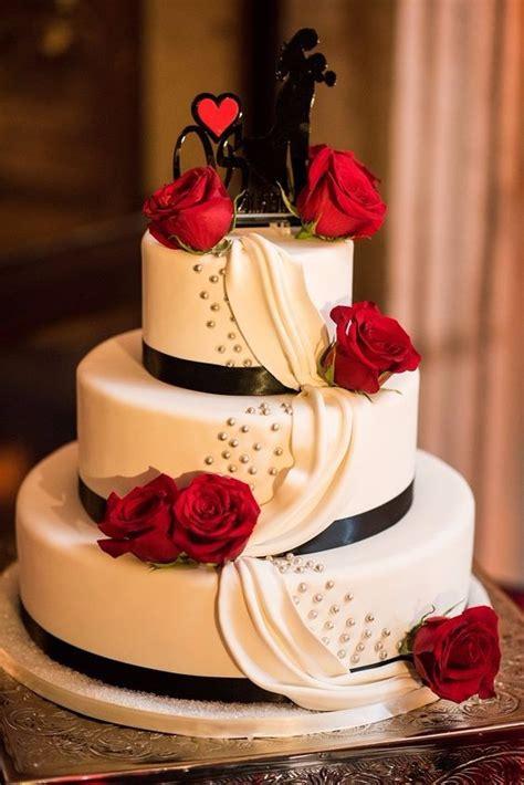 imagenes bodas en blanco y rojo 161 pasteles de boda en negro rojo y blanco foro