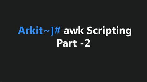 ubuntu awk tutorial awk command explained with practical exles tech tutorials