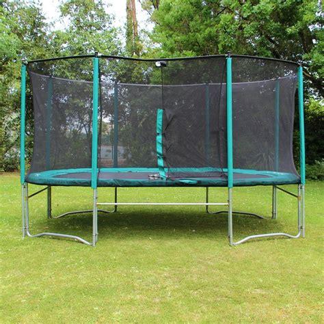 tappeti ovali trolino elastico da giardino ovale 490 con rete di