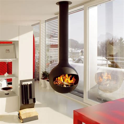 hanging fireplaces modern modern fireplaces for stunning indoor and outdoor spaces