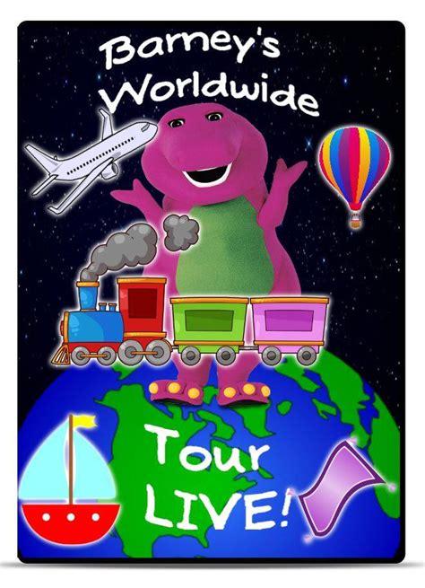 Hangout 2016 Original Dvd barney s worldwide tour live custom barney episode wiki