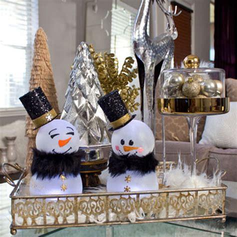diy christmas decor dollar tree snowman angela east