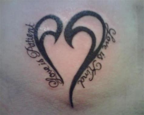 tattoo love is patient heart love tattoo picture at checkoutmyink com
