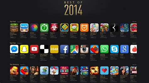 best of 2014 apple announces the app store s best free and paid apps of