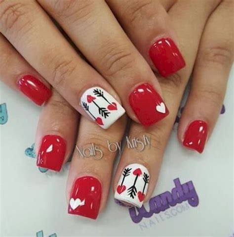 imagenes de uñas oscuras decoradas маникюр на день святого валентина идеи фото дизайн ногтей