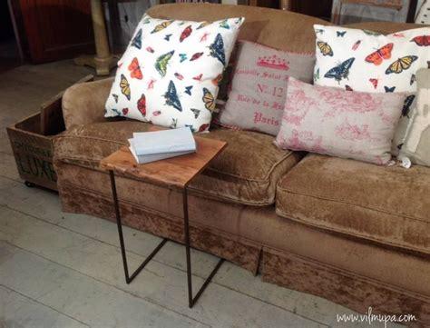 mesita auxiliar sofa mesita auxiliar para sof 225 de metal y madera vilmupa