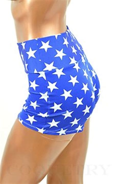 Hq 18330 Blue Embroidered Denim Shorts Size 27 28 29 Bs161117 Import royal blue white print high waist lycra spandex shorts coquetry ebay